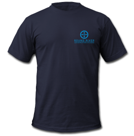 Dark Blue Round River T-shirt